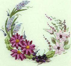 Brazilian Embroidery | Brazilian Embroidery From Blackberry Lane: BL 140 Summer Garden