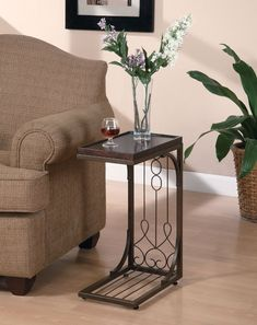 100+ Small Side Tables for Living Room - Interior Paint Color Schemes Check more at http://www.freshtalknetwork.com/small-side-tables-for-living-room/