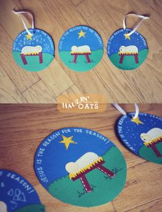 SPO Janelle | Christmas art, Nativity ornaments and Bags