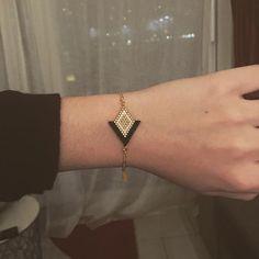 Schöne Likes, drei Rückmeldungen – Camille – The Little Treasures on … - DIY Schmuck Bead Jewellery, Boho Jewelry, Beaded Jewelry, Handmade Jewelry, Jewelry Design, Women Jewelry, Fashion Jewelry, Diy Schmuck, Schmuck Design
