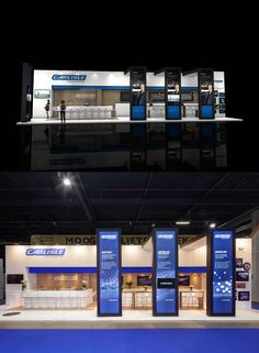 Exhibition design and booth from The Inside stand building at Bouwbeurs (Construction fair) in Utrecht, The Netherlands - 85 m2