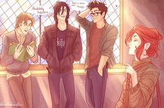 This 'Harry Potter' Fan Art Shows the Marauder's Untold Story at Hogwarts