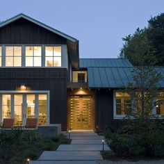 Contemporary Exterior Design, Pictures, Remodel, Decor and Ideas - page 16