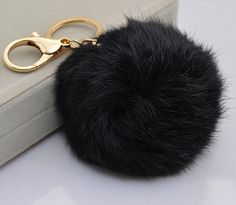 Hey, I found this really awesome Etsy listing at https://www.etsy.com/listing/208433357/cute-genuine-leather-rabbit-fur-ball