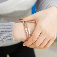 DCEE Custom Name Bracelet Bangle Personalized Initial Name Gold Bar Copper Bracelet Bangle laser Engraved jewelry bijoux youth Engraved Bracelet, Name Bracelet, Engraved Jewelry, Mens Silver Necklace, Silver Hoop Earrings, Silver Jewelry, Silver Ring, 925 Silver, Copper Bracelet