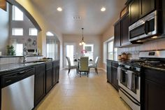 Our open kitchen with Stainless Steel Appliances and Beautiful Granite Counter Tops Saratoga Homes, Stainless Steel Appliances, Open Kitchen, Counter Tops, Model Homes, Siena, Granite Countertops, Future, Interior