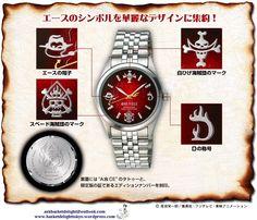 One Piece Ace Watch