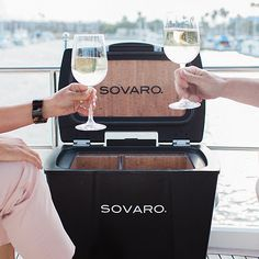 Sovaro Cork Insulated Luxury Wine Cooler at Wine Enthusiast - $595.00