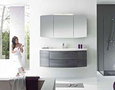 1200mm Basin unit for main bathroom alternative view