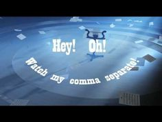 Commas Song from the Grammarheads