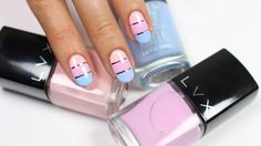 Pink Block Nail Art | Cute Pink Nail Designs Perfect For Every Stylish Lady