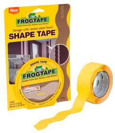 love this FrogTape Shape Tape --- comes in 3 patterns.   Great for crafting.