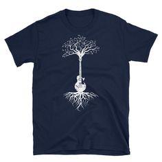 Guitar Tree Unisex T-Shirt Mens Printed T Shirts, Monkey T Shirt, Guitar, Unisex, Tv, Music, Mens Tops, Movies, Fashion