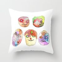 Throw Pillows by Dennis Pomales   Society6