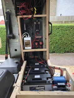 Hansi Van Wagen - 24v & 12v Electrical system Vw Lt 4x4, Volkswagen Transporter, Van, Vans, Vans Outfit