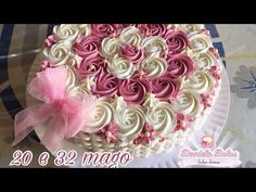 YouTube Cake Decorating Videos, Cake Decorating Techniques, Cookie Decorating, Decorating Tips, Baby Cakes, Baby Shower Cakes, Russian Piping Tips, Buttercream Flowers, Fashion Cakes