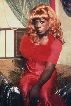 """The lovely Miss Noxema Jackson--AKA Wesley Snipes--from """"To Wong Foo...Love, Julie Newmar."""