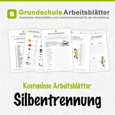 Kostenlose Arbeitsblätter und Unterrichtsmaterial für den Deutsch-Unterricht zum Thema Silbentrennung in der Grundschule.