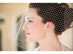 velos de novia bird cage