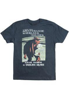 Aventuras de Sherlock Holmes Unisex T-Shirt