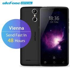Ulefone Vienna Mobile Phone 5.5 Inch FHD MTK6753 Octa Core Android 5.1 3GB RAM 32GB ROM 13MP CAM 4G Fingerprint ID Smartphome