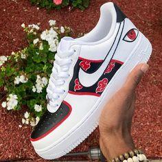Sneakers Fashion, Fashion Shoes, Sneakers Nike, Custom Sneakers, Custom Shoes, Naruto Shoes, Naruto Merchandise, Fresh Shoes, Hype Shoes