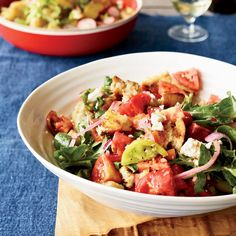 Grilled bread and Tomatoes Summer Salads | Food & Wine