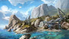 ArtStation - Halo 3 DLC map concepts, Isaac Hannaford