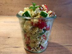 Couscous Salat mit Pesto
