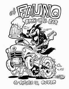 Vector Serigrafia Result of surf image toons Car Drawings, Cartoon Drawings, Cartoon Art, Cartoon Characters, Cartoon Memes, 1930s Cartoons, Old School Cartoons, Rockabilly Art, Garage Art