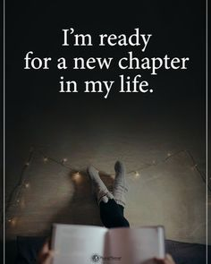 Positive Quotes : QUOTATION – Image : Quotes Of the day – Description I'm ready for a new chapter. Sharing is Power – Don't forget to share this quote ! Ending Quotes, True Quotes, Motivational Quotes, Inspirational Quotes, Daily Quotes, Qoutes, New Chapter Quotes, Ready Quotes, Divorce
