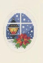 click here to view larger image of Light Christmas Card (counted cross stitch kit)
