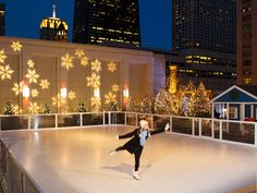 The holidays are over, but one of our favorites cold-weather activities can still be enjoyed for weeks—ice-skating, that is. We found five hotels around the world with skating rinks.