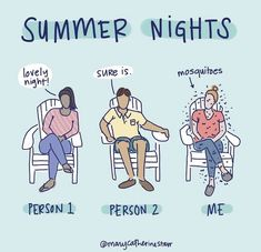 Funny summer nights meme