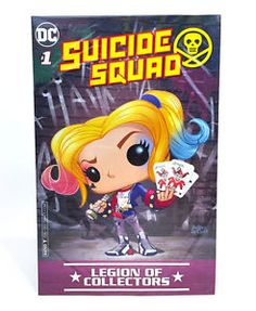 Legion Of Collectors DC Comic Book Suicide Squad #1 Mint Condition Harley Quinn