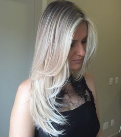 Long hair needs shorter layers, especially around the face.