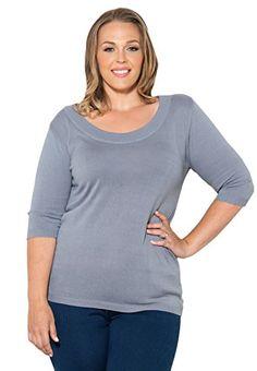 Fashion Bug Plus Size Thelma Sweater www.fashionbug.us #plussize 1X 2X 3X 4X 5X 6X