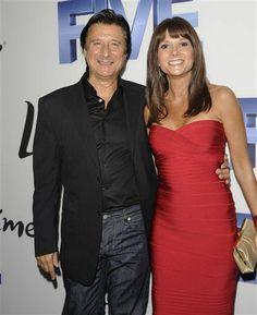 Steve Perry and his girlfriend Kellie Nash. October 2011 More