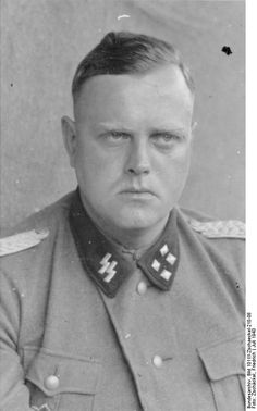 """Hauptsturmfuhrer Günther Eberhard Dieter Wisliceny was a right hand man to Adolf Eichman, chief administrative architect of the slaughter of European Jews. A theology student in his younger days, Dieter became the hot pursuer of the Jews in Slovakia, Hungary and Greece. After the war, Wisliceny provided key evidence against Eichmann that was used in the 1960s against the latter during his trial in Israel. Wisliceny  was tried and hanged in Czechoslovakia in 1948."""