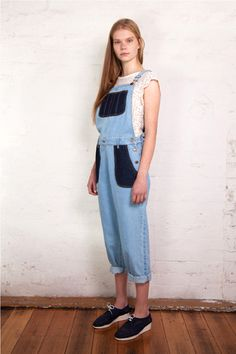 Ryder Daisy Long Overalls Denim – Eclectic Ladyland
