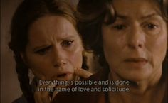 "Film ""Autumn Sonata"" by Ingmar Bergman starring Ingrid Bergman as the mother, Liv Ullmann as her daughter - powerful!"