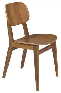 Cadeira Sem Braços London Amêndoa