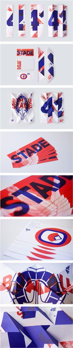 Ballet Jazz Montréal on Behance. - a grouped images picture Leaflet Design, Booklet Design, Corporate Design, Branding Design, Jazz, Typography Layout, Catalog Design, Publication Design, Media Design