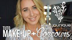 // Tuto Make-up Younique + ENORME Jeu Concours //