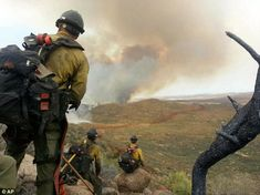 granite mountain hot shots | firefighter Andrew Ashcraft, members of the Granite Mountain Hotshots ...