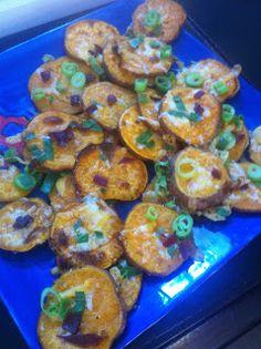 *The Domestic Life: Biggest Loser Sweet Potato Skins