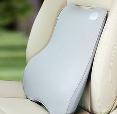 Car Seat Lumbar Support Memory Foam Pillow for Lower Back Pain - Grey Made by high quality material, soft and comfortable, for all season use. The cover easily removable for washing, breathable and durable. Can reduce the pressure of the hip bone and back pain. Improve your posture , Reduce stress to the back and alleviates lower back pain. Perfect for car, offices or other place need to have a back support. Great fit for Car Office or use for Back support anywhere you like. OUR PRODUCT…