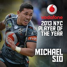 Vodafone 2013 NYC Player of the Year Michael Sio