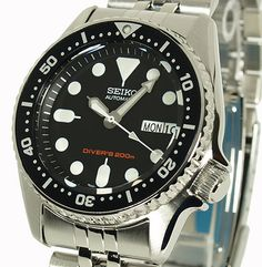 Seiko Wrist Watch for Men for sale online Fossil Watches, Seiko Watches, Cool Watches, Watches For Men, Seiko Diver, Scuba Diving Watches, Seiko 5 Sports, Style Classique, Seiko Men