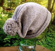 Icicles Hat by Sassy Skein   malabrigo Dos Tierras and Silkpaca in Pearl